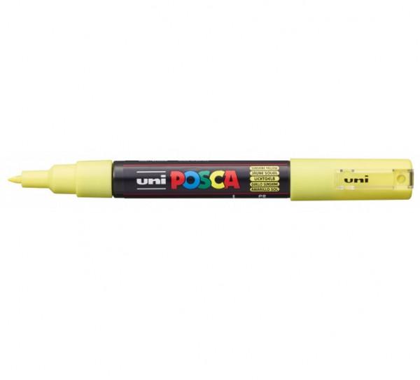 Posca verf stift PC1MC Zon geel