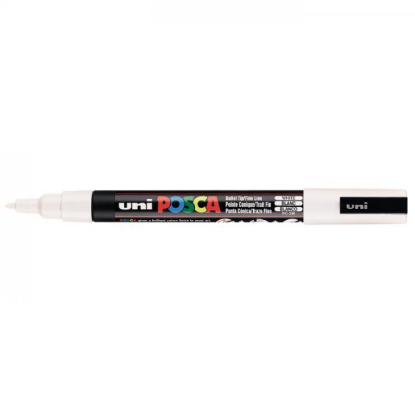Posca verf stift PC3M Wit